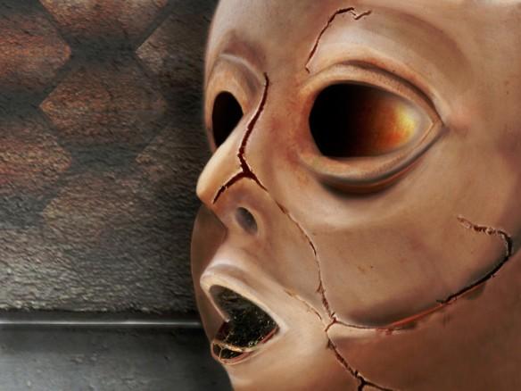 Clay Mask by Jim Heinlein