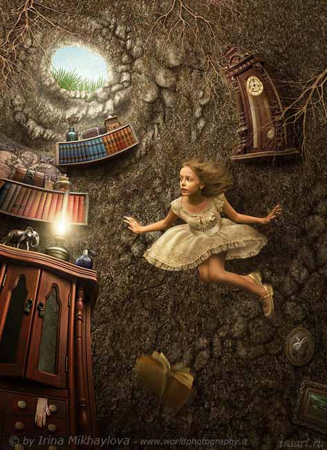 10-Irina Mikhaylova - Alice in Wonderland down the rabbit hole